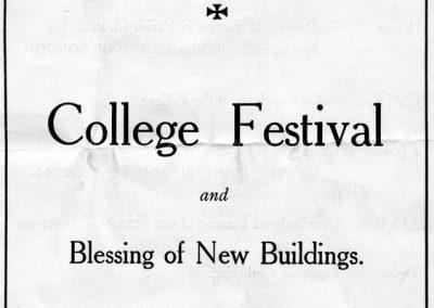 College Festival Pamphlet 1932