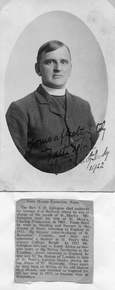 John Hamid Edington
