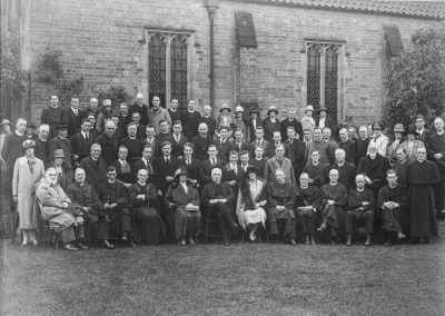 Staff and Students of the Collge