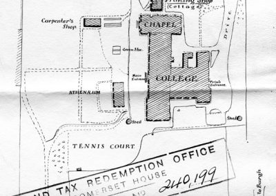 A Plan of St Paul's College, Burgh