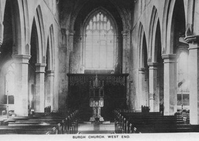 Burgh Church Nave