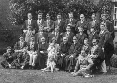 Rev Tabener and Students 1934